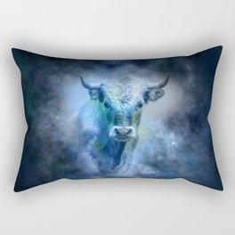 Bull Rectangular Pillow