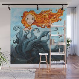 The Dryad of the King-Tree Wall Mural