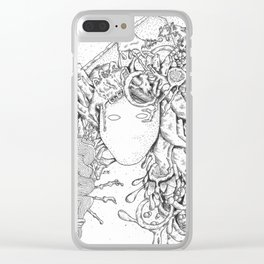 Perm Clear iPhone Case