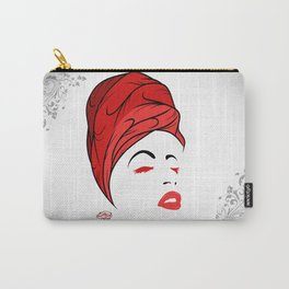 Lady Wrap (Red) Carry-All Pouch
