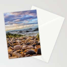 Low pebbles, smooth tide Stationery Cards