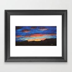 Grand Sunrise Framed Art Print