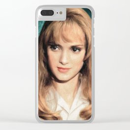Kim Boggs Clear iPhone Case