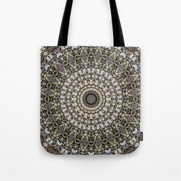 Underfoot Kaleidoscope Tote Bag
