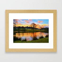 Hardwick View Framed Art Print