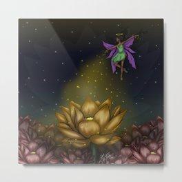 A Fairy's Night Metal Print