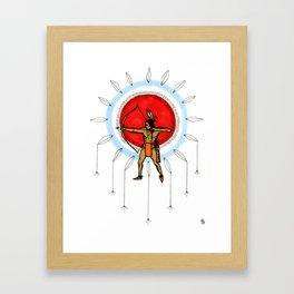 Dream Hunter Framed Art Print