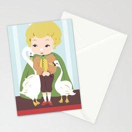 Porcelain Boy (Blond) Stationery Cards