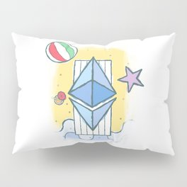 ETH #worthit Pillow Sham