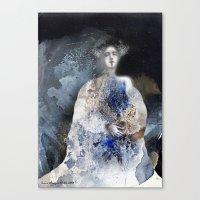virginia Canvas Prints featuring Virginia by Iris V.