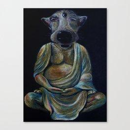 Buddhdog Canvas Print
