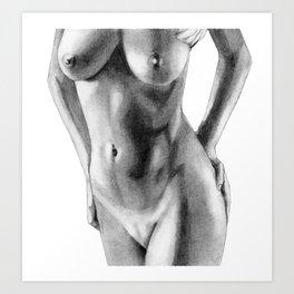 Mina pose Art Print