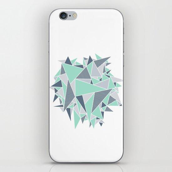 EXPLOSION-TRIANGLE iPhone & iPod Skin