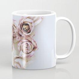 Flowered Milk Coffee Mug