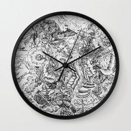 Run Free Wall Clock