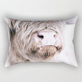 HIGHLAND CATTLE PORTRAIT Rectangular Pillow