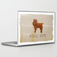 brussels Laptop & iPad Skins featuring Brussels Griffon by 52 Dogs