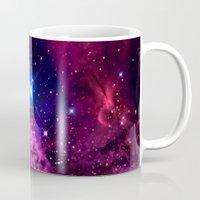 galaxy Mugs featuring Galaxy! by Matt Borchert