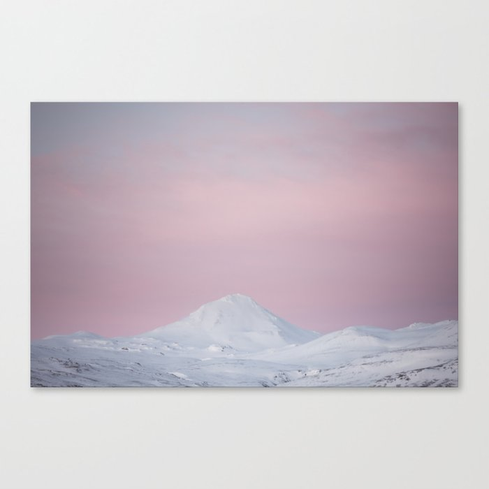 Candy mountain - Landscape and Nature Photography Canvas Print