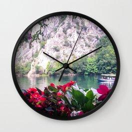 Matka Canyon, Macedonia Wall Clock