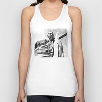 christ Tank Tops featuring Christ statue by Vorona Photography