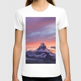 Himalayas Fishtail Mountain Sunset T-shirt