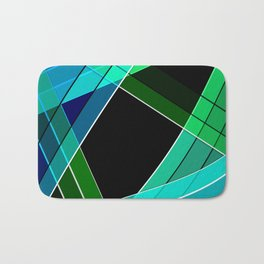 Abstract pattern 8 Bath Mat