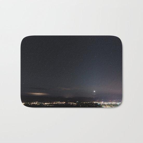 Arizona Desert Night Sky Stars Bath Mat