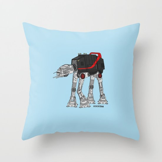 ATATATEAM Throw Pillow
