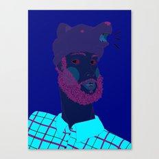Lumberjack or Hipster? Canvas Print