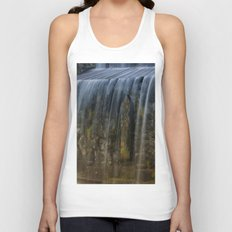 Rushing Waterfall Unisex Tank Top