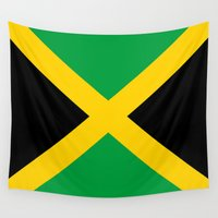 jamaica Wall Tapestries featuring Jamaica by RickART