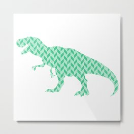 T-Rex the Tyrant Lizard Metal Print