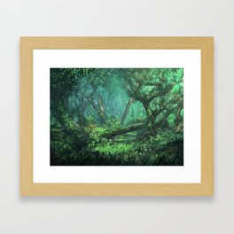 Forest of the Wise Framed Art Print