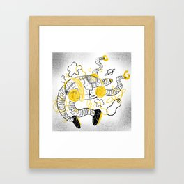 Le Robot Framed Art Print