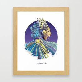 Amerindian Fantasy Framed Art Print