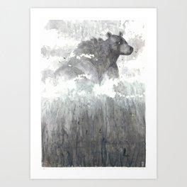 The Bear Lin  Art Print