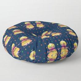 Pumprins dance Floor Pillow