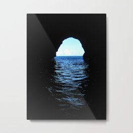 Don't be here at high tide Metal Print