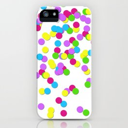 Party Confetti iPhone Case