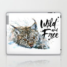 Lynx Wild and Free Laptop & iPad Skin