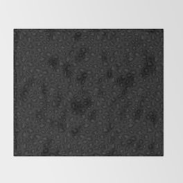 Leopard Print 2.0 - Black Panther Throw Blanket
