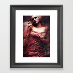 Lividity Among The Dead Framed Art Print
