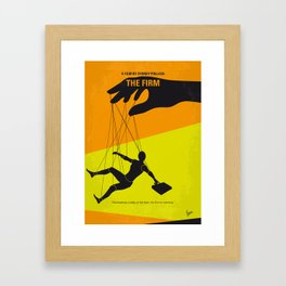No1001 My The Firm minimal movie poster Framed Art Print