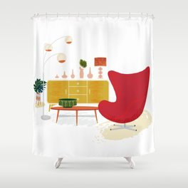 My Living Room Shower Curtain