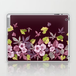 Sweet Potato Floral Border Laptop & iPad Skin