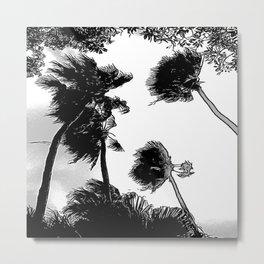 Palmiers - Palmetto Metal Print