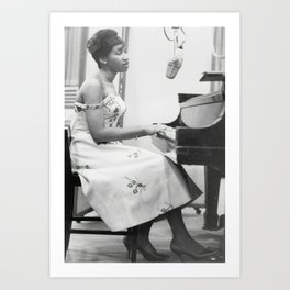 Aretha Franklin Poster American Singer Canvas Wall Art Home Decor Framed Art Art Print