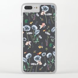 Fishes & Garden Clear iPhone Case