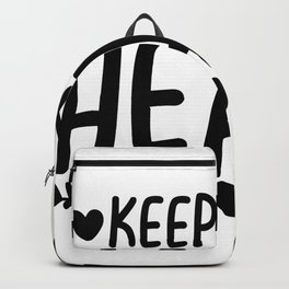 Keep Your Heart-01 Backpack